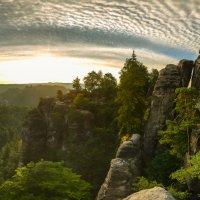 восход с облаками... :: Maximilian Buckup