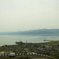 Вид с серпантина на Байкал :: Ольга Логинова