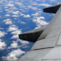 Под крылом самолёта :: Татьяна Черняева