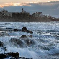 Прибой в Estoril :: Дмитрий Бакулин