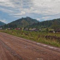 сибирская деревня... :: зоя полянская