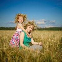Мама Лена с дочерью Алиной . :: Андрей Якимюк