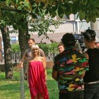 Съёмки клипа :: Евгений Ермолаев