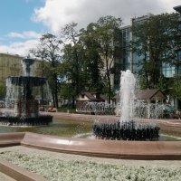 К прохладе фонтана... :: Николай Дони
