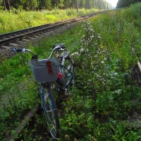 Наш бронепоезд на запасном пути :: Андрей Лукьянов