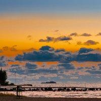 Закат над заливом :: Виталий