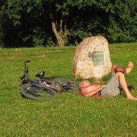 Еще один велосипедист устал :: Андрей Лукьянов