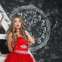 Девушка в красном :: olga31ru -