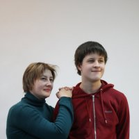 Виталик с бабушкой :: imants_leopolds žīgurs