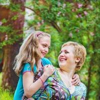 Мама с дочей! :: Надежда Подчупова
