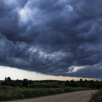 Дорога в дождь :: Александр