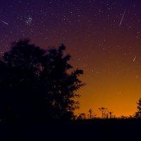 Метеоритный дождь в ночь на 12.08.15 :: Ринат Валиев