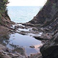 Кадр на подъёме с пляжа, подъём на скалу Киселёва. :: Райская птица Бородина