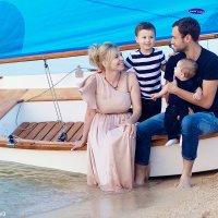 Семейная фотосессия на Азовском море :: Олеся Шаповалова