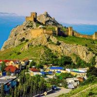 Генуэзская крепость :: Роман Величко