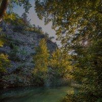 одна из длинных рек в каньоне Крыма :: Alex_R Rujinskiy