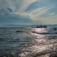 Поселок Листвянка, озеро Байкал :: Яна Васильева