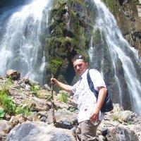 Я и Гегский водопад)) :: Валерий Стогов