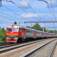 Электропоезд ЭД2Т-0046 :: Денис Змеев