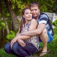 Катя и Алексей . :: Андрей Якимюк