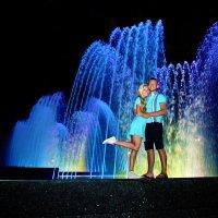 Цветной фонтан :: Владимир Соловьев