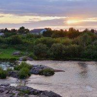 На берегу реки Яя :: Андрей Беспалов