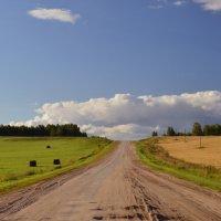 Дорога к облаку :: Андрей Беспалов