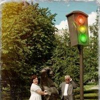 Старый светофор :: Дмитрий Конев