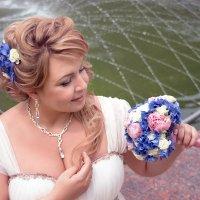 Каждая невеста имеет свой образ, неповторимое очарованье... :: Райская птица Бородина