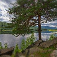 Озеро в горах :: Сергей Адигамов