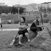 Девушки с веслом :: Sofia Rakitskaia