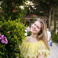 Уличные цветы :: Виктор Зенин