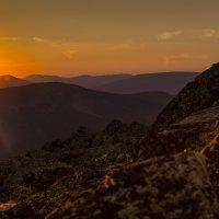 Горящие горы :: Pavel Rakhimberdiev