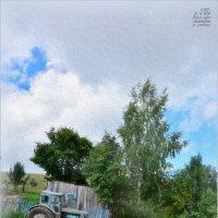 ДЕРЕВЕНСКИЙ ПЕЙЗАЖ./день города в деревне/ :: Юрий Ефимов