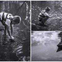 После дождя... У детей Новороссии должно быть детство!!! :: Юлия Тягушова