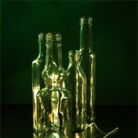 Green glass in the dark :: Lev Serdiukov