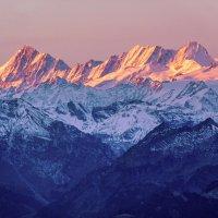 Рассвет в Альпах :: Zifa Dimitrieva