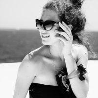 Девушка на яхте :: Nazar Pysarenko