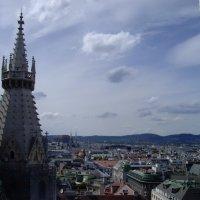 Вид на г. Вена с башни Собора Святого Штефана... :: Юрий Поляков