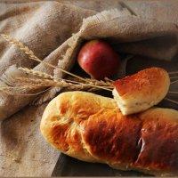 Пирог с яблоками. :: Елена Прихожай
