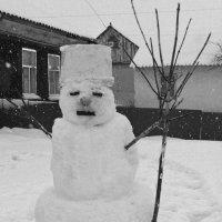 Снеговик.. :: Наталья Бутырская