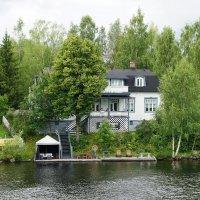 Типичный финский домик :: Елена Павлова (Смолова)