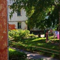Из окна.Гелиос 44-2 :: Владимир Михайлович Дадочкин