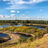 Карьерный пейзаж :: Зоя Авенировна Куренкова