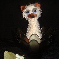 Грустная сиамская кошечка :: Нина Корешкова