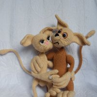 Любовь крута, полюбишь и кота !!! :: Ольга Карташева