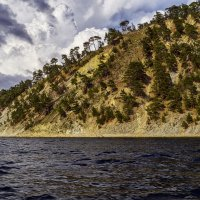 Море, горы, облака. :: Андрей Дворников