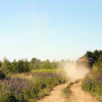 Пыль дороги :: Женечка Зяленая