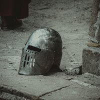 Защита..(рыцарский натюрморт) :: Александр Тихонов