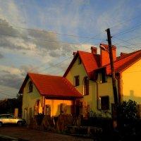 дом на закате :: Александр Прокудин